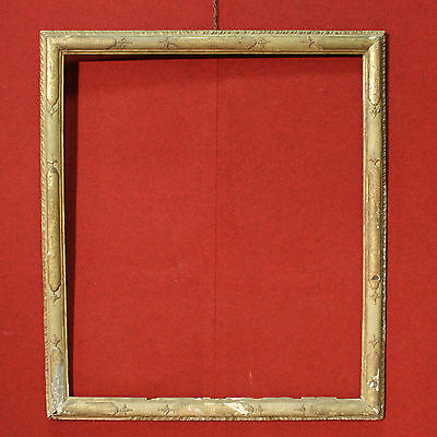 ANTIQUE FRAME ITALIAN WOOD PAINT LACQUERED GOLDEN PERIOD '700 (H 176 cm)