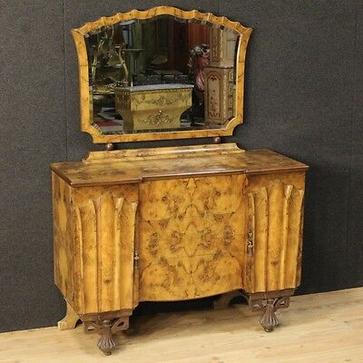 Dresser With Mirror Art Déco Furniture Dresser Camera Full Italy Period '900
