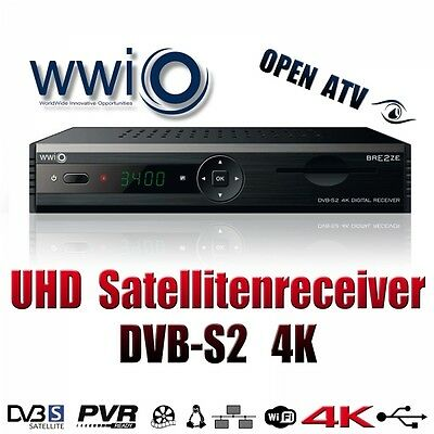 UHD 4K DIGITAL RECEIVER;DVB-S2; Open ATV;USB 3;CI;PVR;Smartcardreader