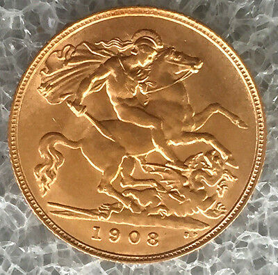 1908 half sovereign