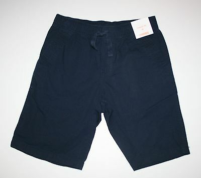New Gymboree Navy Ripstop Shorts Size 10 Year NWT Island Cruise Elastic Waist
