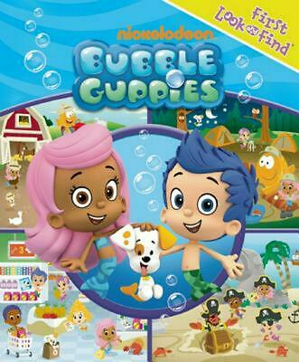 Bubble Guppies First Look and Find Book Free Shipping!