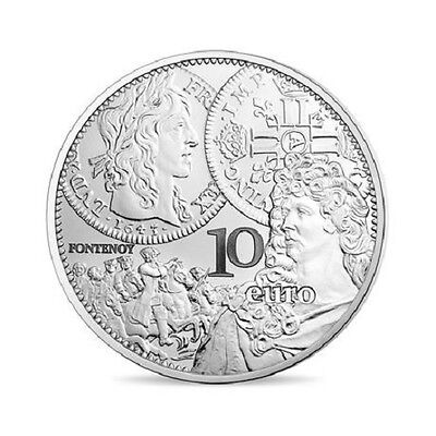 FRANCE 10 Euro Argent BE 2017 SEMEUSE le Louis d'Or - Silver coin