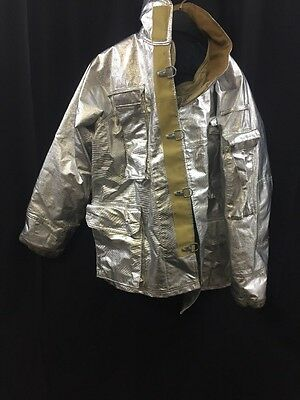 FIRE GEAR Firefighter Proximity Jacket Turnout 91F6 42 Very Good Condition