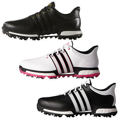 Adidas Mens Tour360 Boost Golf Shoes New Waterproof Leather Medium Wide Fit