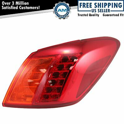 Taillight Taillamp Pair For 09-10 Nissan Murano