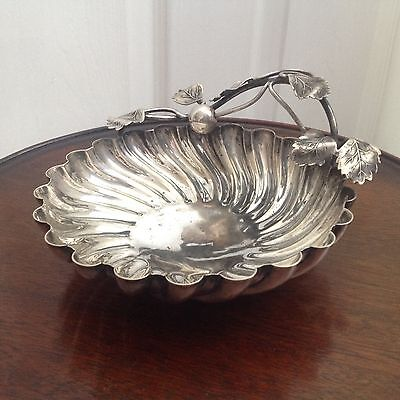 Antique Mappin & Webb's - Cherry Fruit Dish - Silver Plated