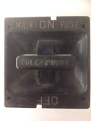 square d 100 amp fuse holder pull out main disconnect with 100 amp rh picclick com Wadsworth Fuse Box Diagram Home Fuse Panel