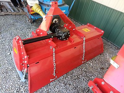 Rotary Tiller 6' Farmline Gear Driven 3 Point Tractor Attachment NEW Adjustable