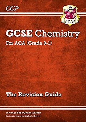New Grade 9-1 GCSE Chemistry: AQA Revision Guide with Online Edition,PB,CGP Boo