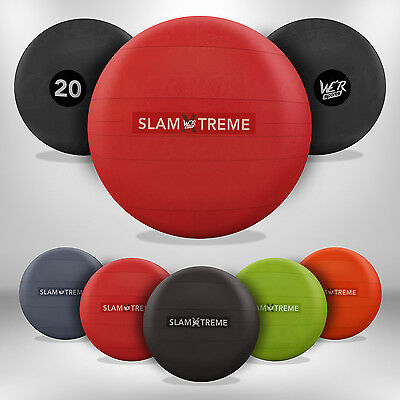 Slam Ball No Bounce Crossfit Fitness MMA Boxing BootCamp Extreme Strength Gear