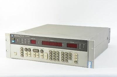 HP 8656B Synthesized Signal Generator 0.1-990MHz w/ Opt 001, 002, Rack Ears