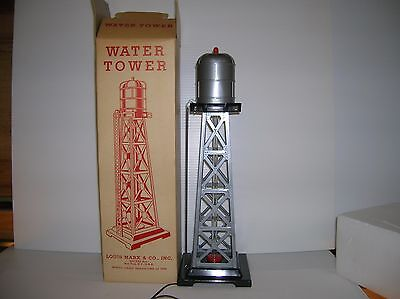 "MARX ""Bubbling Water Tower # 0465 "" New boxed lot # 10801"