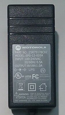 Motorola Minitor Charger Power Supply Adapter  25R75178C02  model SPS-12-005A