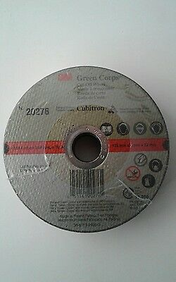 "25 3M 20276 5"" 5 inch Cubitron Ceramic Cut-Off Cutting zip Wheel disc 7/8 Arbor"