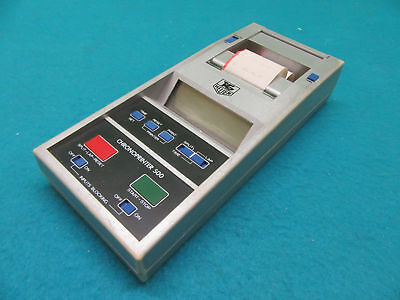 Chronoprinter 500 Thermal Printer & PSU by Tag Heuer of Switzerland OEM Box