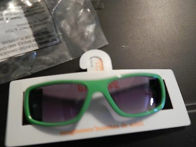 Baby infant boys' green sunglasses, SZ 0-2 years old, NWT Gymboree
