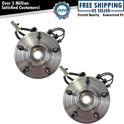 TRQ Front Wheel Hubs & Bearings Pair Set of 2 for Jeep Grand ...
