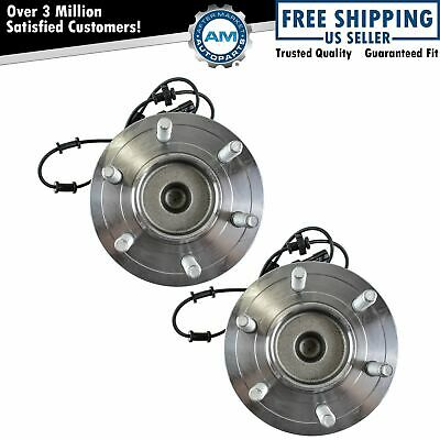 Front Wheel Hubs & Bearings Pair for 03-06 Expedition Navigator 2WD
