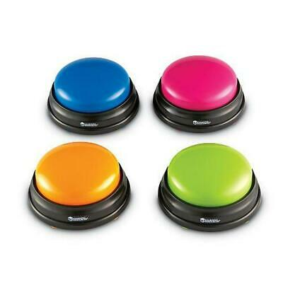 Answer Buzzers, 4 Piece - Learning Resources Free Shipping!
