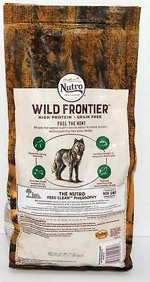 Nutro Dog Food Wild Frontier Rolling Meadows With Lamb 4 Pounds 1/18