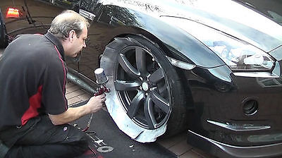 Professional Alloy Wheel Masking Cards: 1 pack fits all sizes!