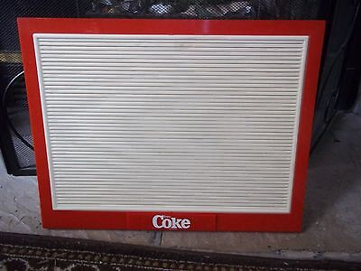 Coca-Cola countertop menu board sign w/3 sets of Coca-Cola letters & numbers!