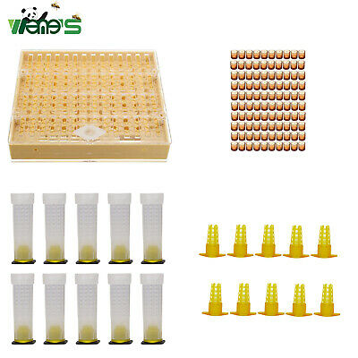 Beekeeping Complete Queen Bee Rearing Cell Cupkit Box System Set Tool Nicot