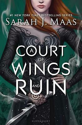 A Court of Wings and Ruin by Sarah J. Maas Hardcover Book