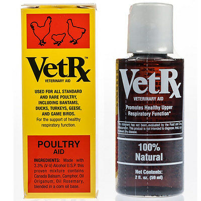 VetRx Poultry | Remedy for Scaly Leg, Eye Worm and Chicken Respiratory Illness