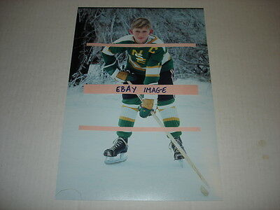 WAYNE GRETZKY 8x12 extremely rare photograph 1972 Nadrofsky Steelers 11 yrs old