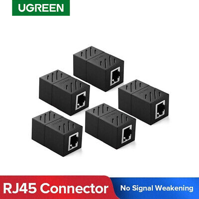 Ugreen 5 Pack RJ45 Inline Coupler Cat7,Cat6,Cat5e Ethernet Network Cable Adapter