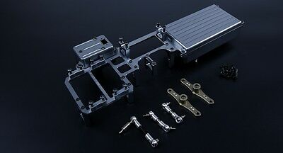 Twin Steering Servo With Big Battery Case Kit for Losi 5ive T