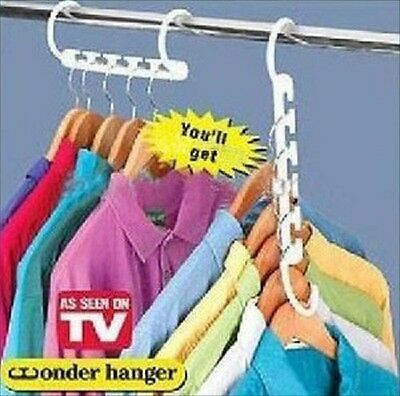 Space Saver Hanger Household Closet Organizer Tools Supplies Magic Hangers