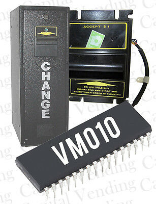 Dollar Bill Acceptance $1 - $20 Eprom Chip for VM010 Change Time Coin Changers