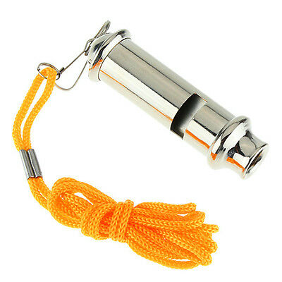 Emergency Metal Whistle For Police Traffic Warning Security Whistle Portable