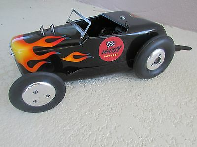 1940's McCoy 60 Duro-matic Hot Rod gas tether race car complete ignition 15 inch
