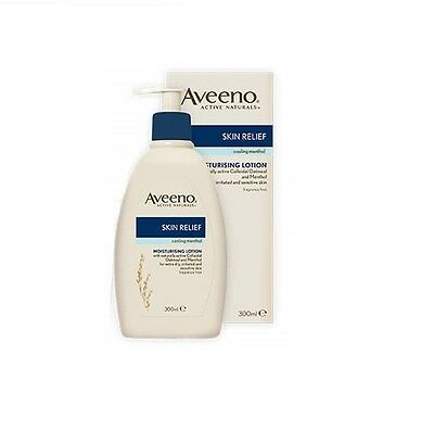 Aveeno Skin Relief Moisturising Lotion with Menthol 300ml