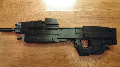 Halo Reach Inspired Full-Scale Replica of MA37 Assault Rifle [3D Printed]