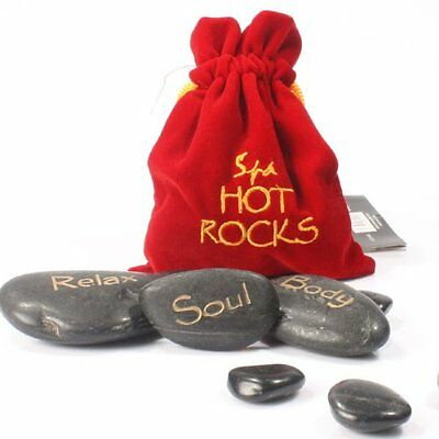 Romantic Spa Hot Rocks Gift Pack Stone Therapy Relaxing  Massage Kit Gift