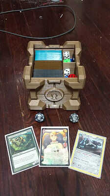 'Companion Crate' Deck & Dice Box for M:TG Pokemon Vanguard Yugioh [3D Printed]