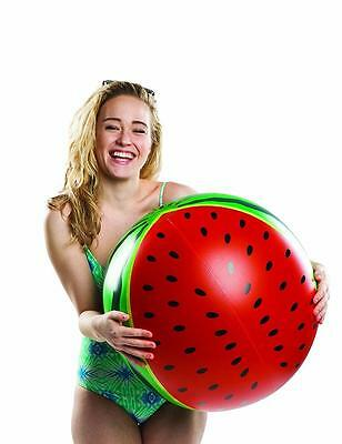 """BMT Giant 20"""" Watermelon Inflatable Novelty Beach Ball Pool Party Water Toy New"""