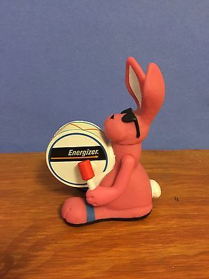 "Vintage Energizer Bunny Drummer 4"" Figure Toy Squeeze Light 1990's item# 1"