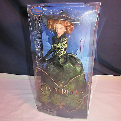 "Disney Store Lady Tremaine Film Collection 11""  Doll Set Live Action Cinderella"