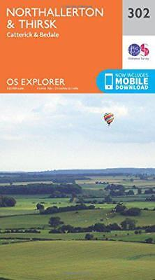 OS Explorer Map (302) Northallerton and Thirsk - Catterick and Bedale, Ordnance
