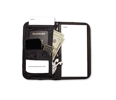 Quality Professional Travel Business Money Organizer Wallet Notepad ID Passport