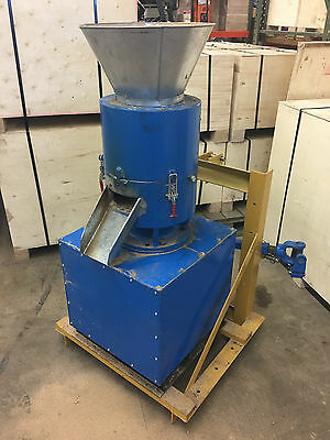 "14"" PTO Powered Pellet Mill w/support. Make feed or fuel pellets. Ready to ship!"