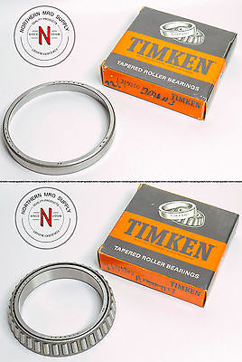 "Your Choice: Timken L319249 & L319210 Tapered Roller Bearing & Cup, 3.75"" Id"