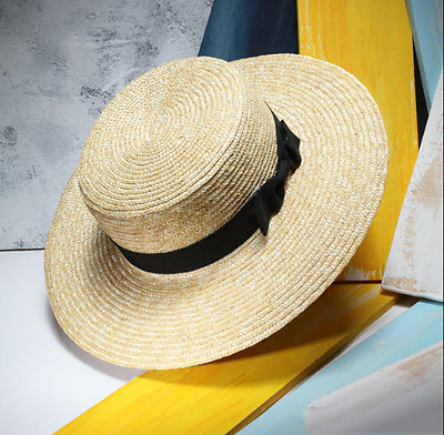 New Men S Summer Hat Wide Brimmed Panama Hat For Men Straw Hat Beach
