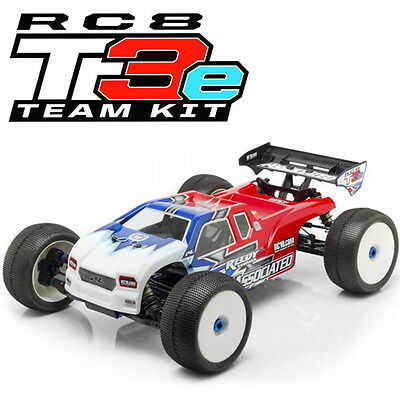 Associated 80918 RC8T3e Team Kit 1:8 Scale Electric 4WD Off Road Truggy